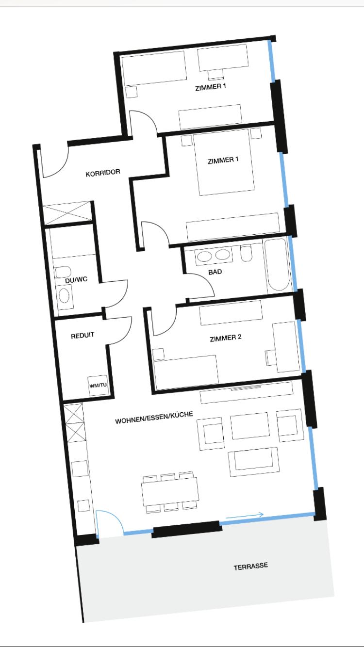 Wohnung 1, GG, Löwenpark