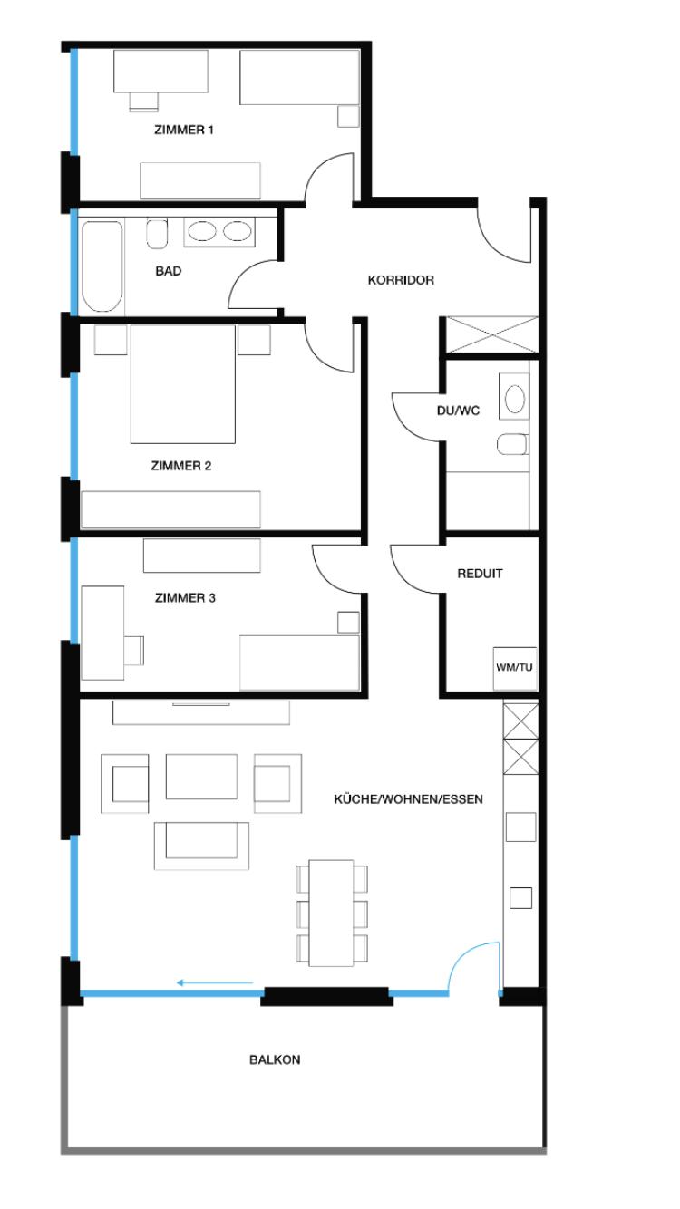 Wohnung 18, EG, Löwenpark