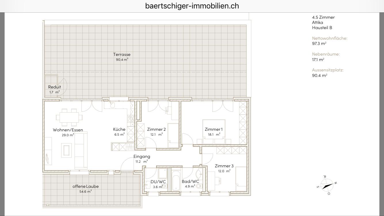 Wohnung F 03.4, Attika, Striegelpark