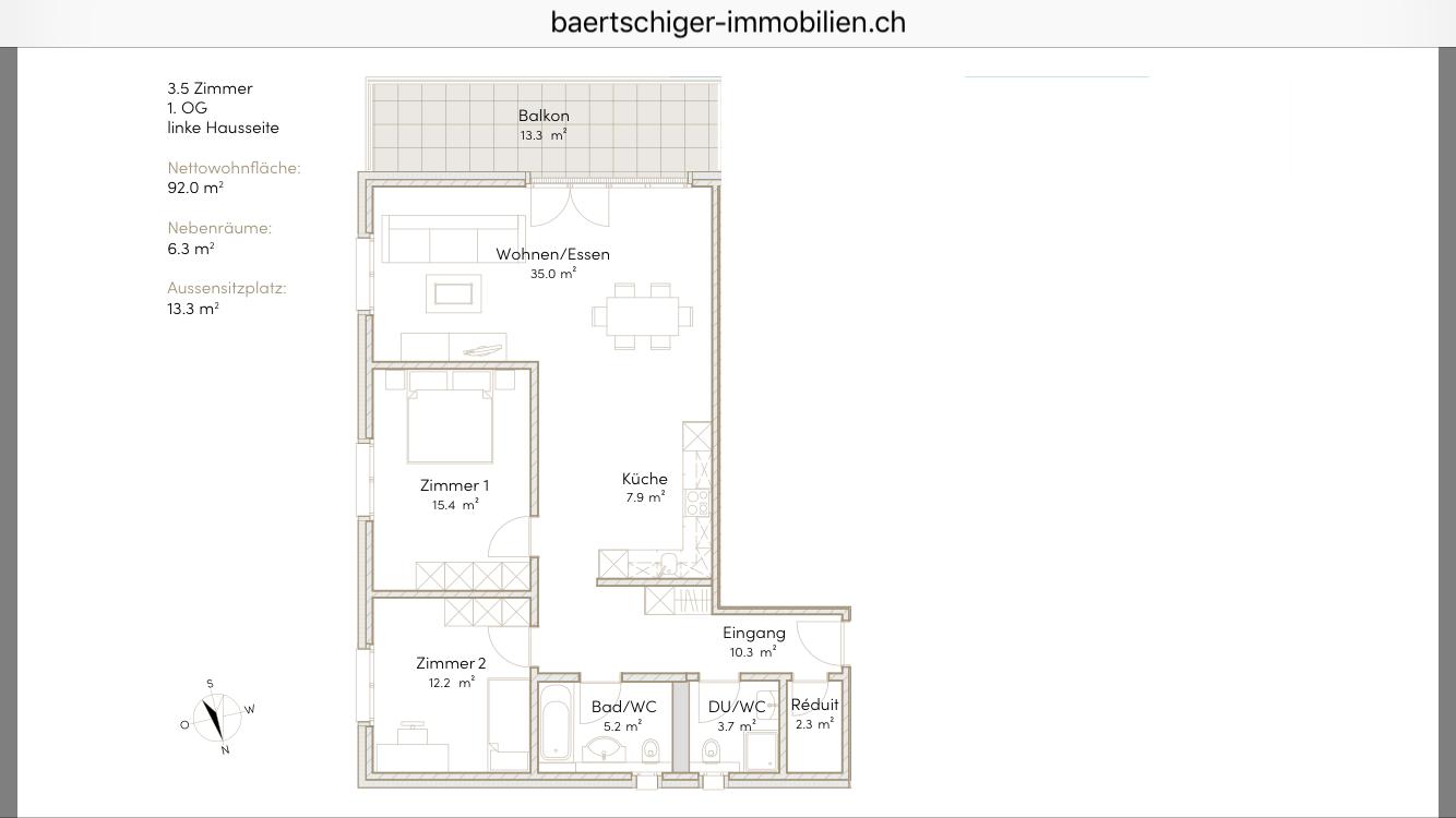 Wohnung C 01.1, 1. OG, Striegelpark