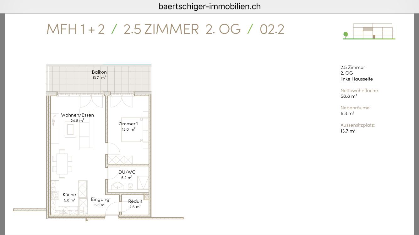 Wohnung C 02.2, 2.OG, Striegelpark