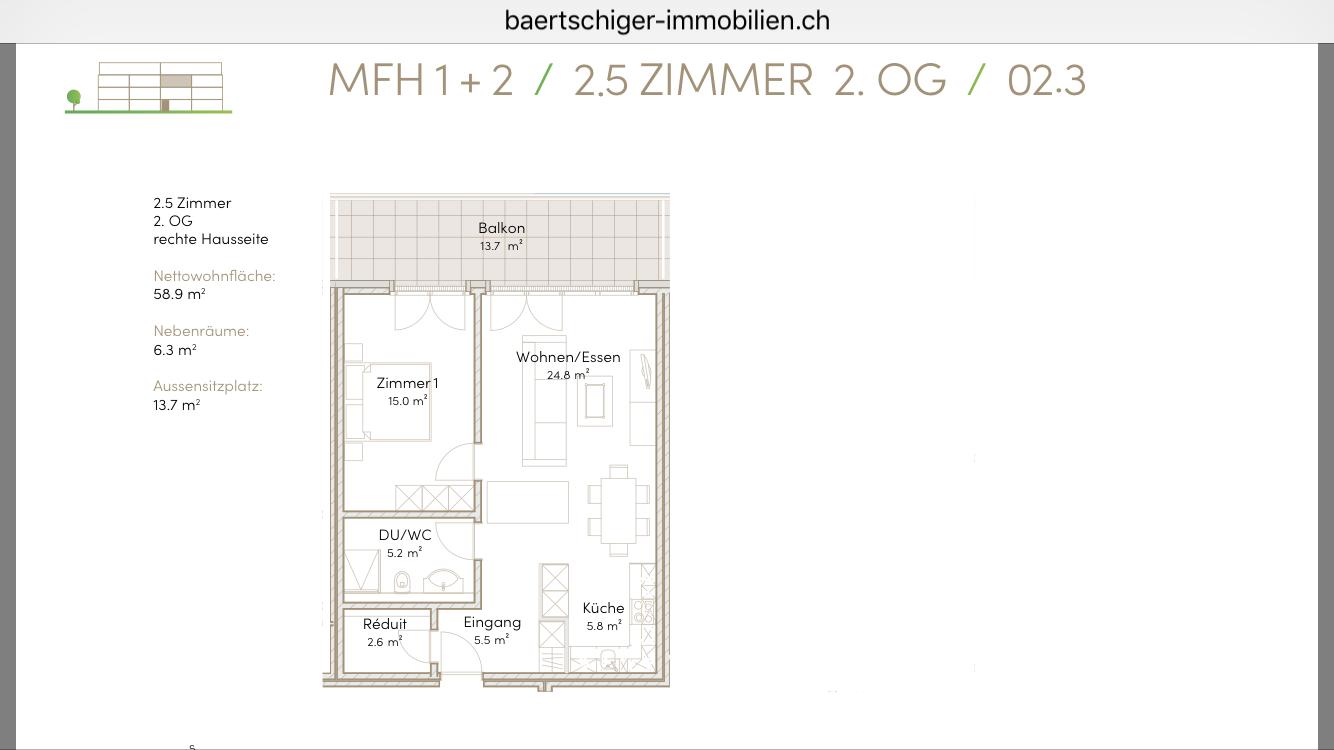Wohnung B 02.3, 2.OG, Striegelpark