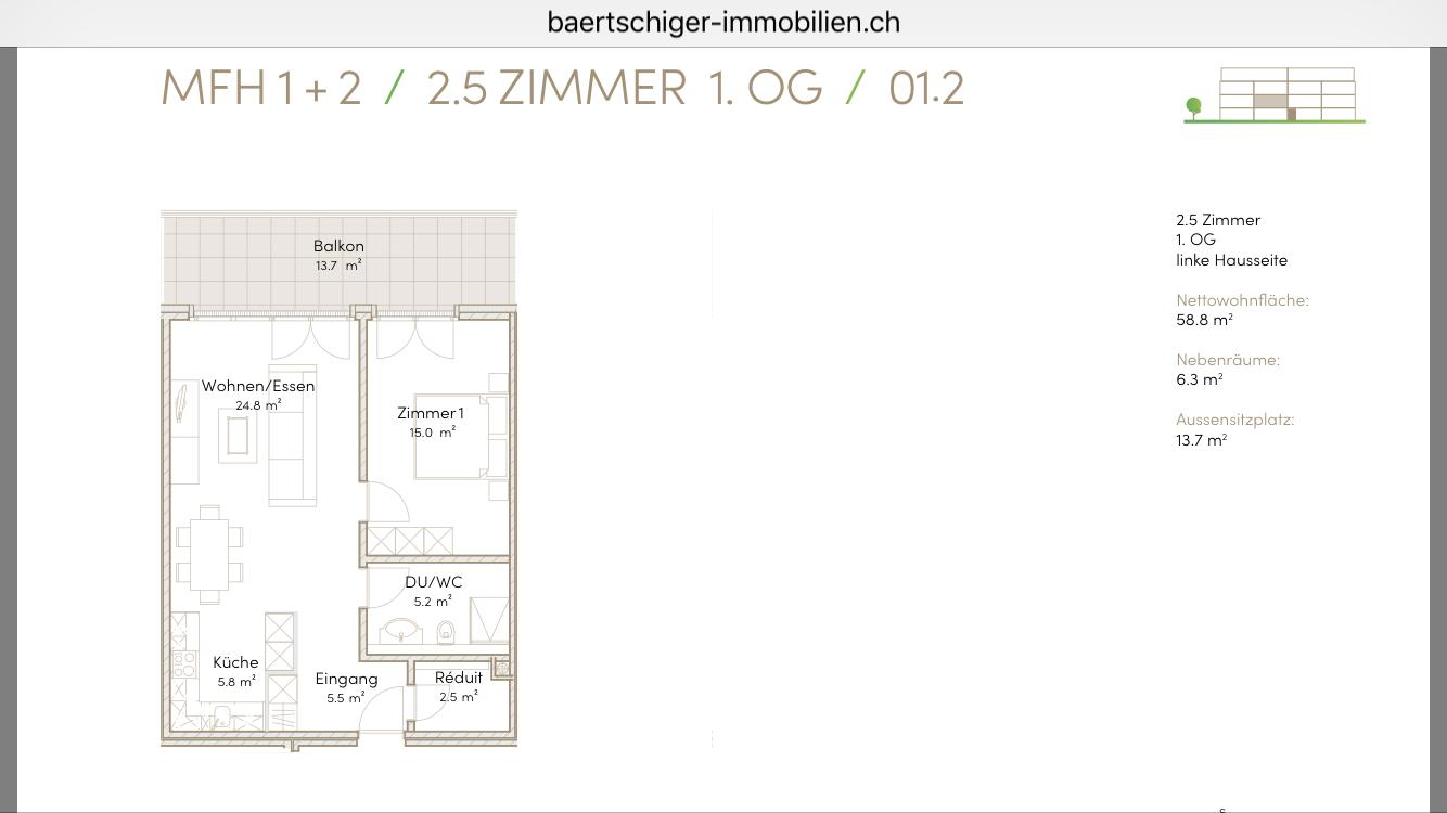 Wohnung C 01.2, 1.OG, Striegelpark