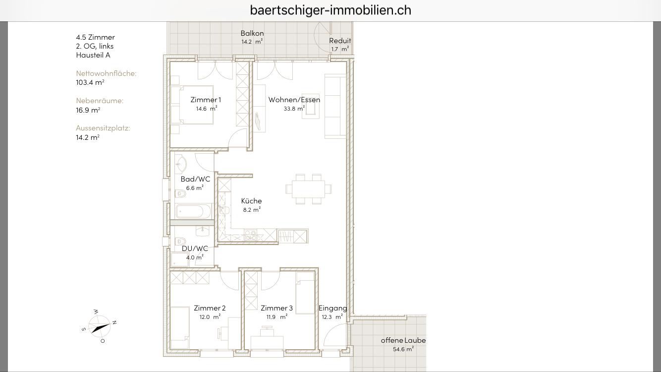 Wohnung F 03.1, 2. OG, Striegelpark