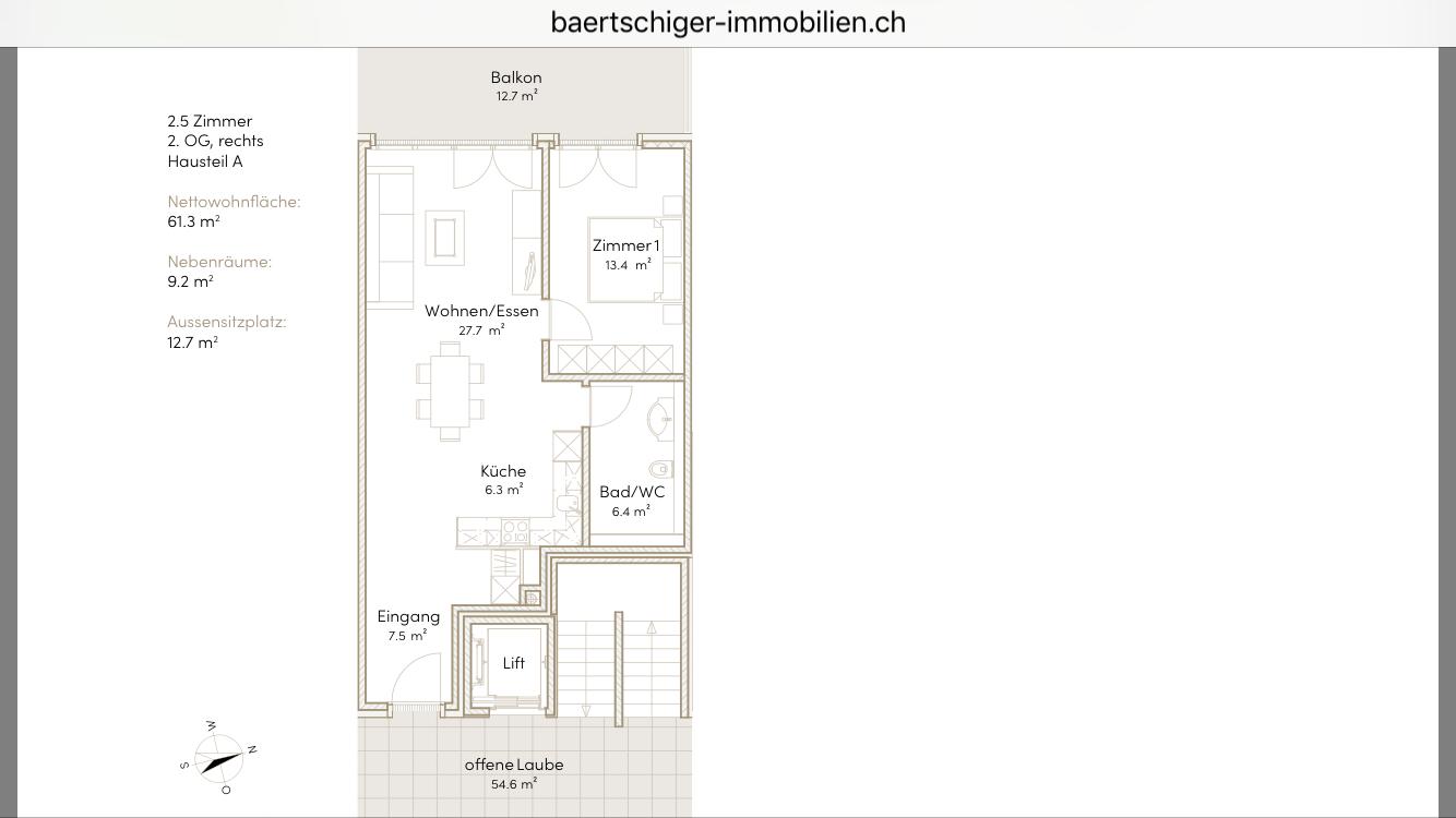 Wohnung F 03.3, 2. OG, Striegelpark
