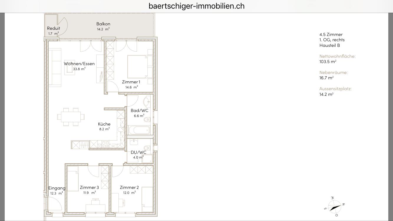 Wohnung F 01.5, 1. OG, Striegelpark