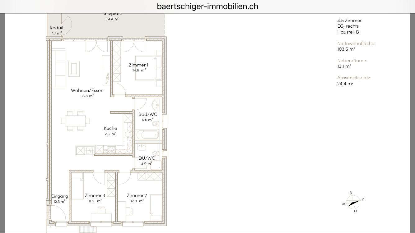 Wohnung F 00.2, EG, Striegelpark