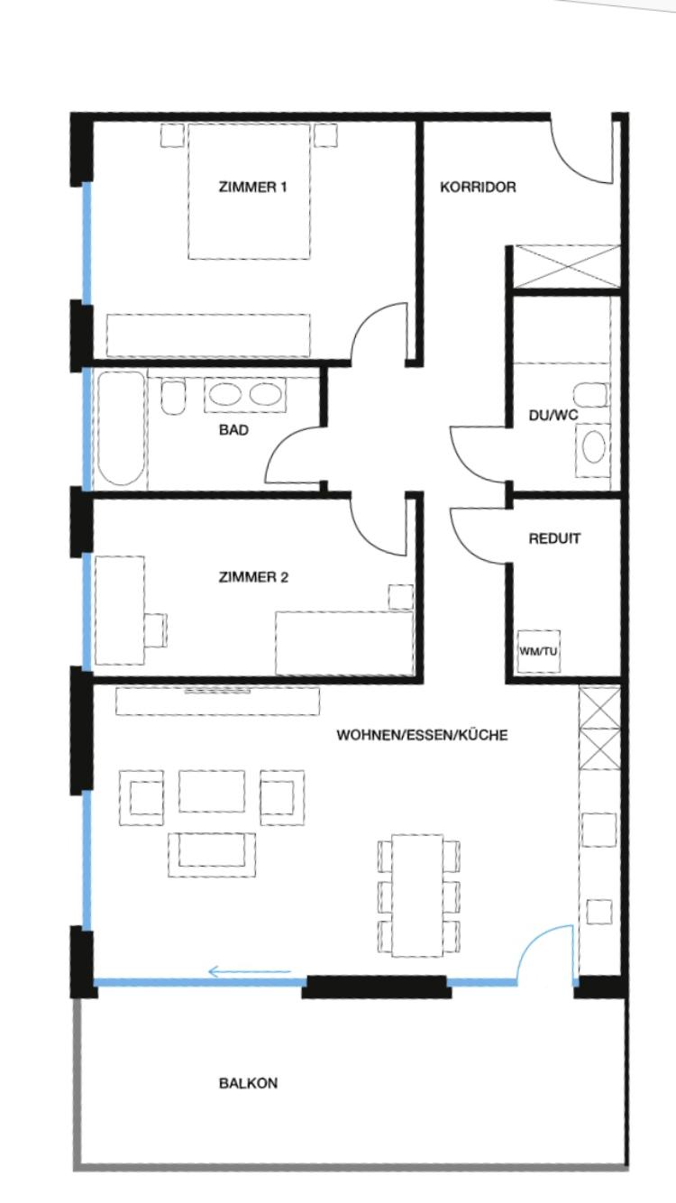 Wohnung 4, EG, Löwenpark
